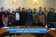 Join us and begin your journey to becoming a better speaker and leader!